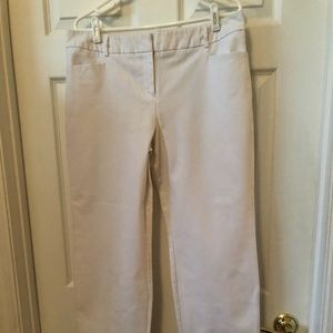 "Apt.9 ""Modern Fit"" White Slacks, Size 14"